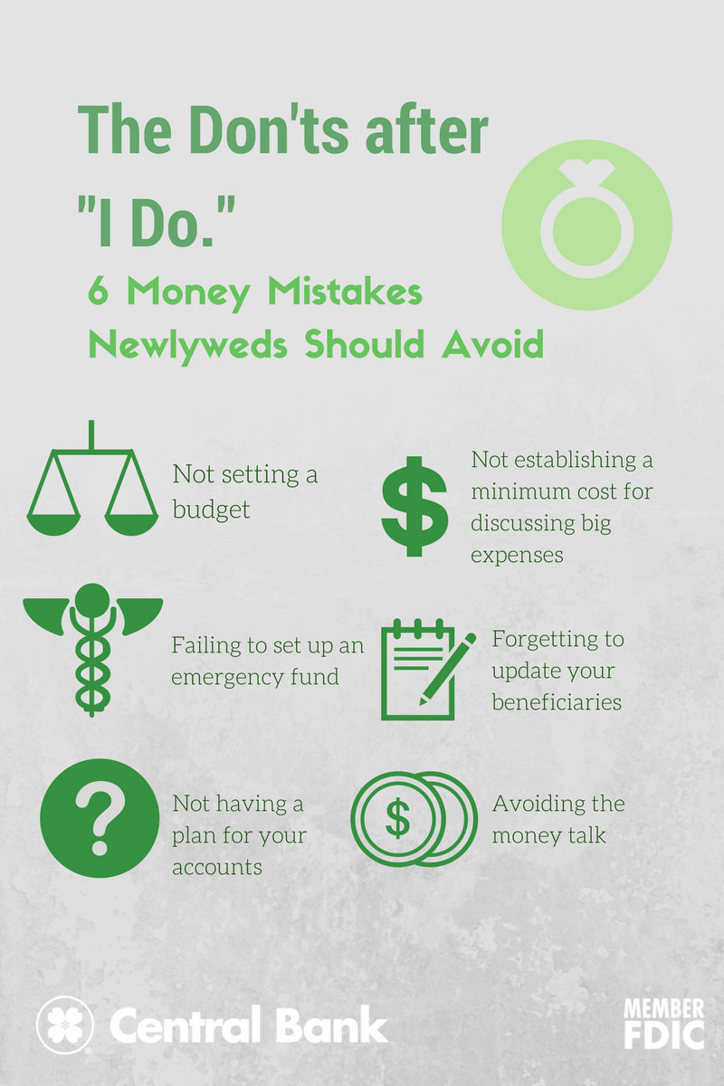 An infographic touching on the mistakes to avoid